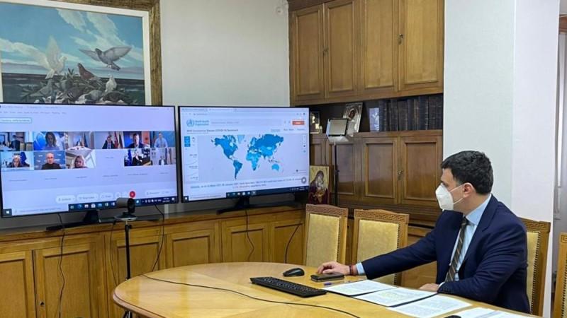 Ο Κικίλιας στην τηλεδιάσκεψη των υπουργών Υγείας του ΕΛΚ
