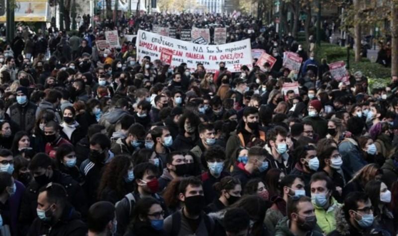 Δικογραφία από την ΕΛ.ΑΣ για το συλλαλητήριο