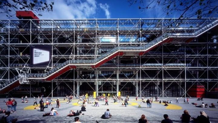 «Κλειστόν λόγω εργασιών» το Centre Pompidou