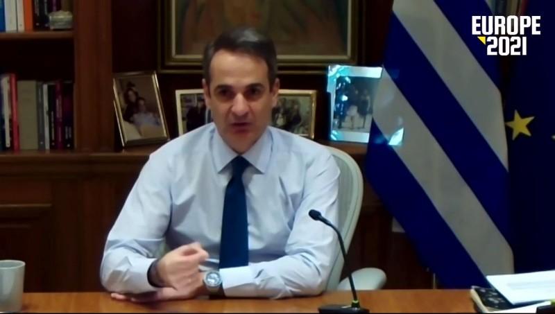 Κ. Μητσοτάκης: Η πανδημία δεν σταμάτησε τις μεταρρυθμίσεις