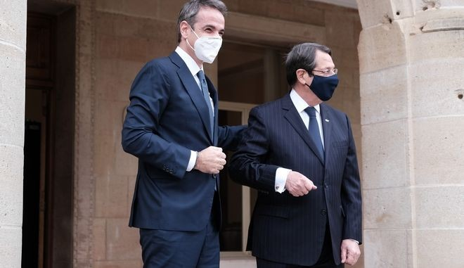 Κ. Μητσοτάκης-Ν. Αναστασιάδης: Μένουμε προσηλωμένοι στις αποφάσεις του ΟΗΕ