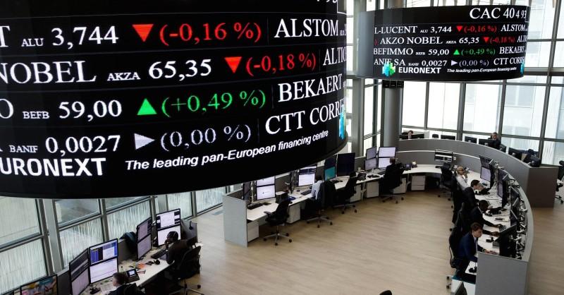 Ευρωπαϊκά Χρηματιστήρια: Πτώση λόγω του ράλι στα ομόλογα