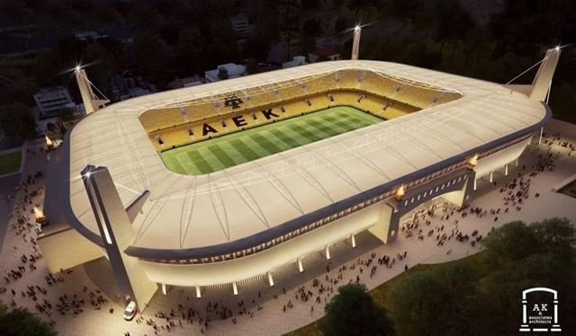Το 2022 μπαίνει η ΑΕΚ στο νέο γήπεδο