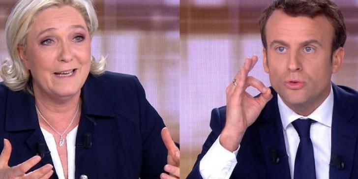 Γαλλία: Αρχισε ο άτυπος προεκλογικός αγώνας Μακρόν-Λεπέν