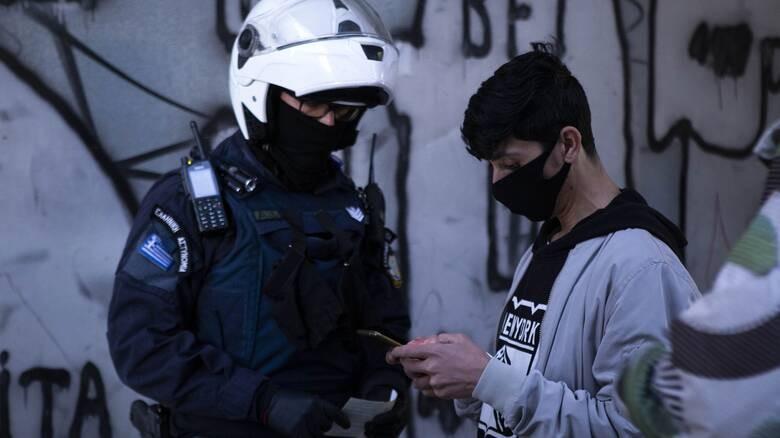 Lockdown: Πρόστιμα 544.650 ευρώ για 1.605 παραβιάσεις των μέτρων