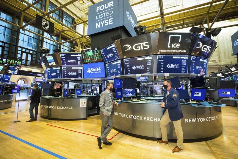 Wall Street: Πτωτική κίνηση λόγω της εκτίναξης των ομολόγων