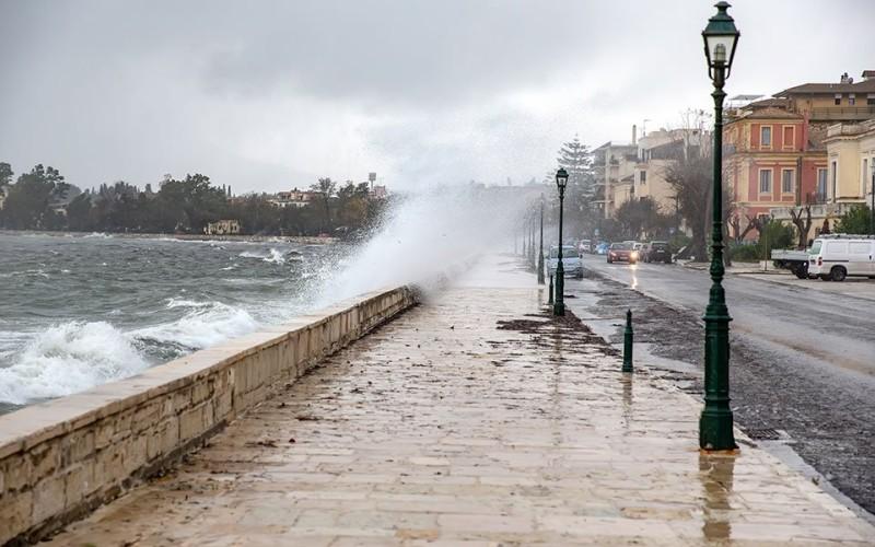 Κέρκυρα: Σοβαρά προβλήματα από την κακοκαιρία