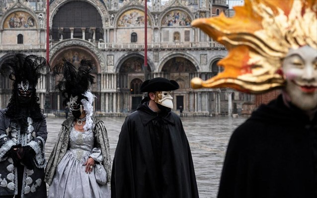 Καρναβάλι Βενετίας: 70 εκατ. ευρώ, το κόστος από την ακύρωση