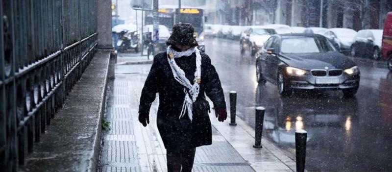 Κακοκαιρία: Σε δύο δόσεις η «Μήδεια» - Στην Αθήνα έως 3 βαθμοί την Τρίτη