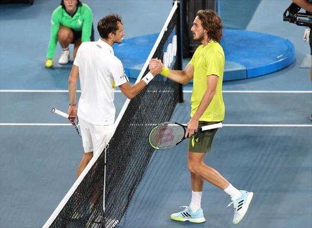 Αποκλείστηκε ο Τσιτσιπάς από τον τελικό του Australian Open
