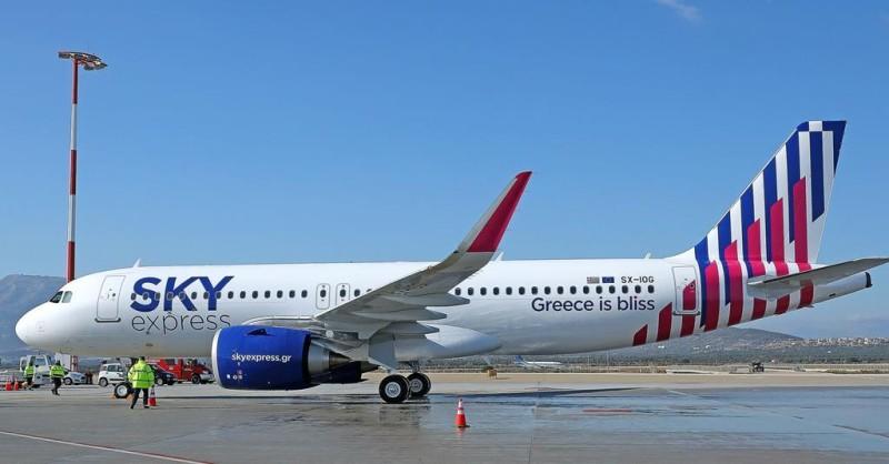 Ακυρώσεις πτήσεων από την Sky express