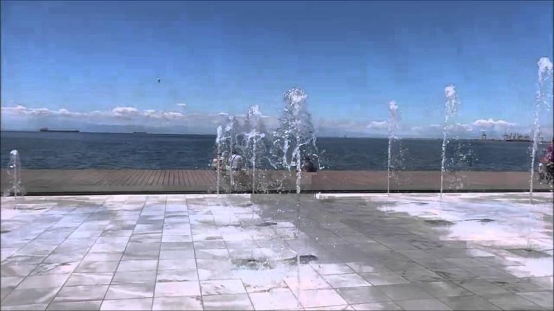 Εικαστικές δημιουργίες καραντίνας στη νέα παραλία Θεσ/νίκης