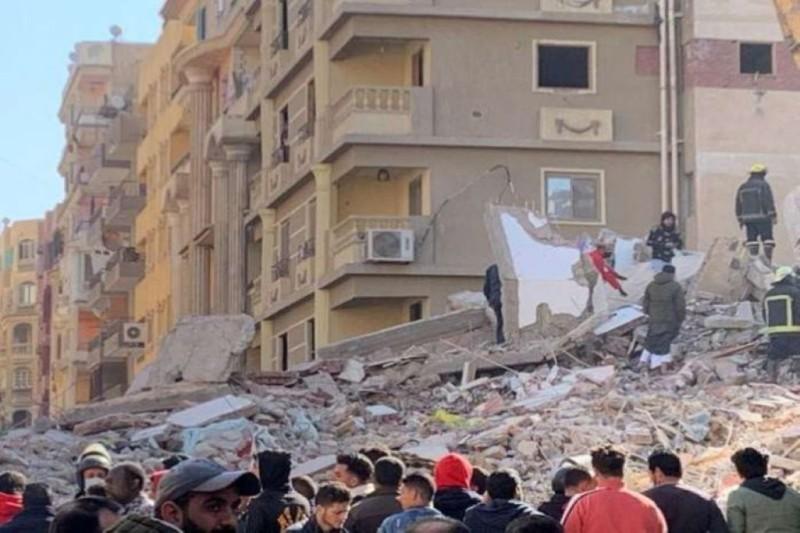 Αίγυπτος: Πέντε νεκροί σε κατάρρευση κτιρίου στο Κάιρο