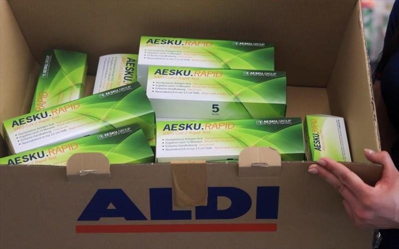 Γερμανία: Τεστ για κορωνοιό από Aldi και Lidl