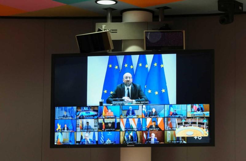 Με τηλεδιάσκεψη η Σύνοδος Κορυφής τελικά- Λόγω έξαρσης της πανδημίας