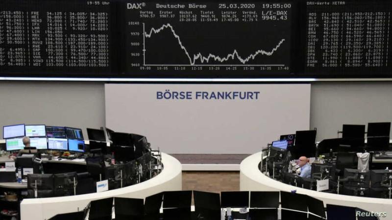 Ευρωπαϊκά Χρηματιστήρια: Ισχυρά κέρδη λόγω της πτώσης των αποδόσεων στα ομόλογα