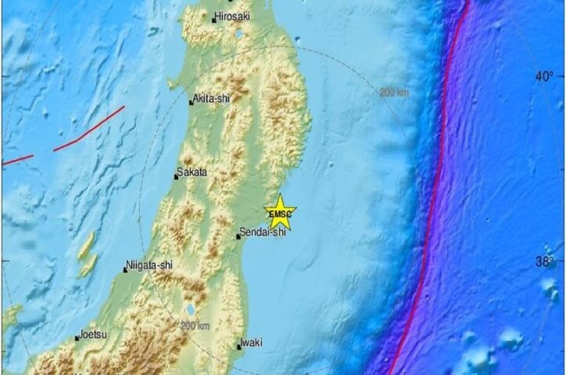 Ιαπωνία: Προειδοποίηση για τσουνάμι έπειτα από σεισμό 7,2 ρίχτερ
