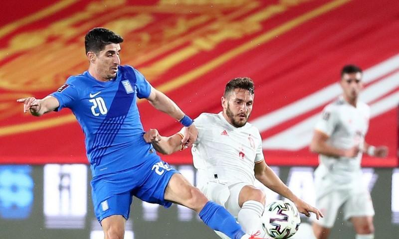 Ισόπαλη η Ελλάδα με την Ισπανία 1-1