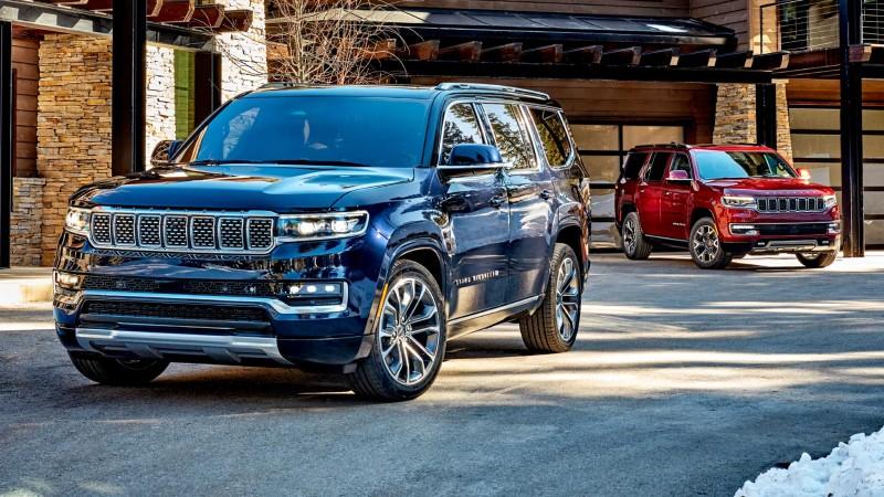 Αποκαλύφθηκαν τα νέα Jeep Wagoneer και Grand Wagoneer