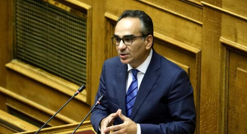 Βασίλης Κοντοζαμάνης στη Βουλή: