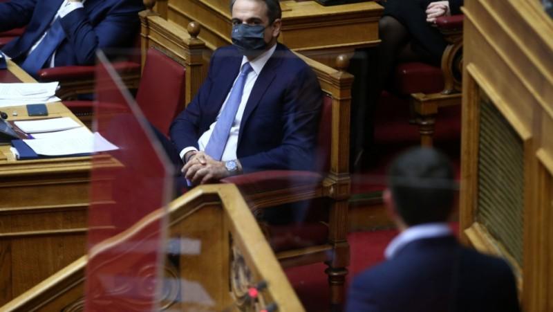Βουλή: Συζήτηση πολιτικών αρχηγών για την πανδημία