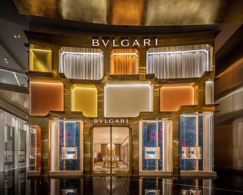 Ολοκληρώθηκε η μπουτίκ Bulgari στην Μπανγκόκ