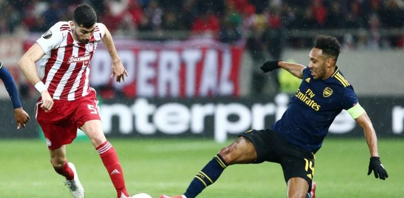 Ποδόσφαιρο - Europa League: Ολυμπιακός - Άρσεναλ 1-3