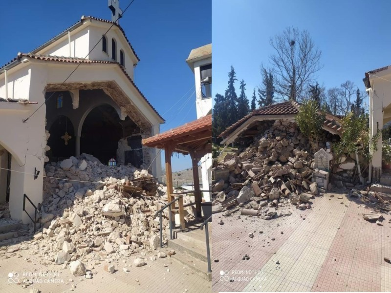 Σεισμός 6 Ρίχτερ: Κυβερνητικό κλιμάκιο στη Θεσσαλία
