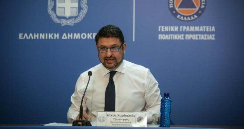 Νίκος Χαρδαλιάς: Κλειστά όλα τα σχολεία από 16 ως 29 Μαρτίου