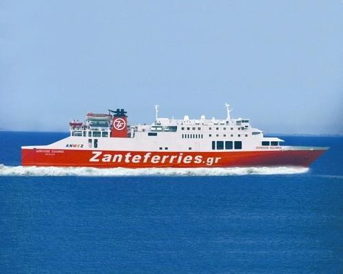 Μηχανική βλάβη στο πλοίο Διονύσιος Σολωμός