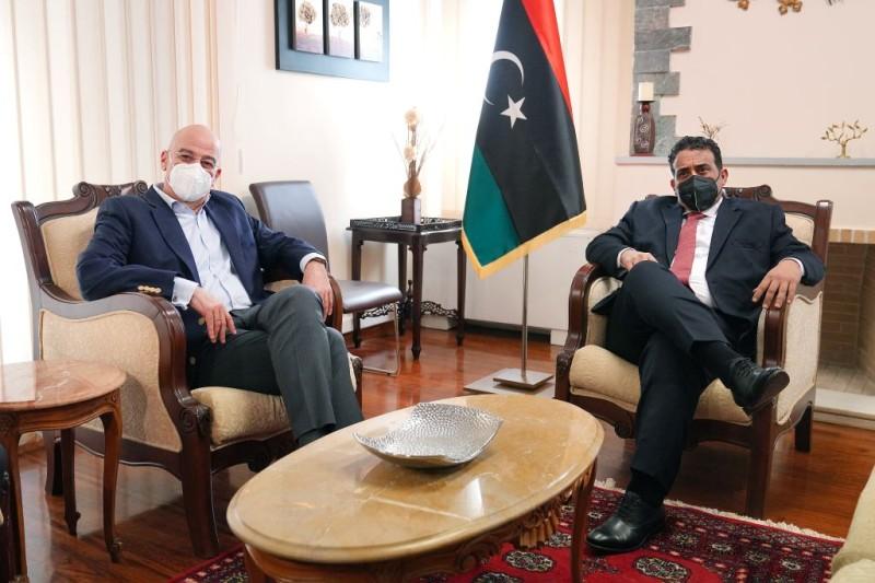 Ν. Δένδιας: Διπλωματικός μαραθώνιος - Συναντήσεις με τους ΥΠΕΞ Λιβύης και Αιγύπτου