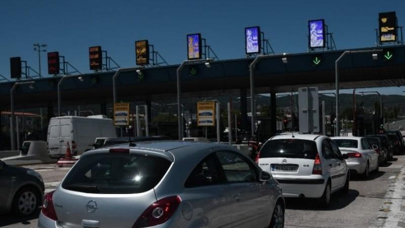 Μειώθηκε η έξοδος οχημάτων από τα διόδια Ελευσίνας και Αφιδνών