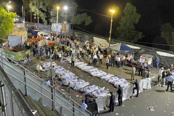 Ισραήλ: 44  νεκροί από ποδοπάτημα σε θρησκευτική γιορτή