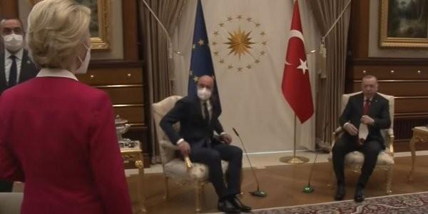 Τουρκία: Ευθύνες στην Ε.Ε. για το «καψώνι» στην Ντερ Λάιεν