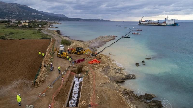 ΑΔΜΗΕ: Ολοκληρώθηκε η ηλεκτρική διασύνδεση Κρήτης - Πελοποννήσου