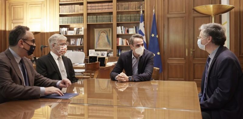Τετ α τετ Μητσοτάκη με Ισραηλινό καθηγητή για το φάρμακο κατά του κορονοϊού