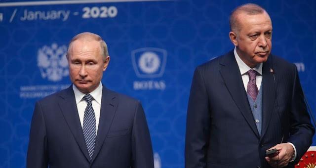 Πούτιν σε Ερντογάν: Να διατηρηθεί η Συνθήκη του Μοντρέ