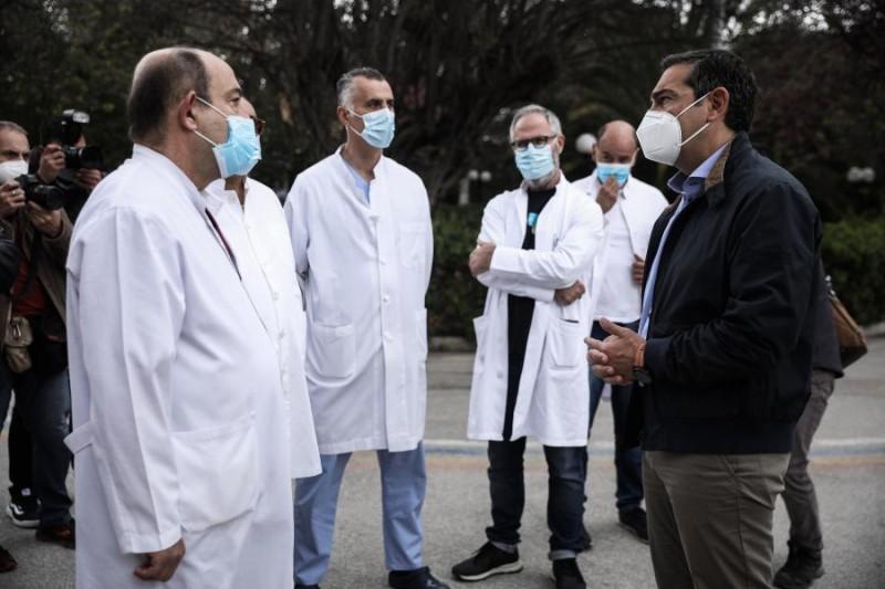 Αλ. Τσίπρας: Δραματική η κατάσταση στα νοσοκομεία