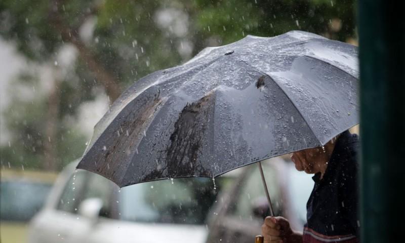Ερχονται βροχές και τοπικές χαλαζοπτώσεις