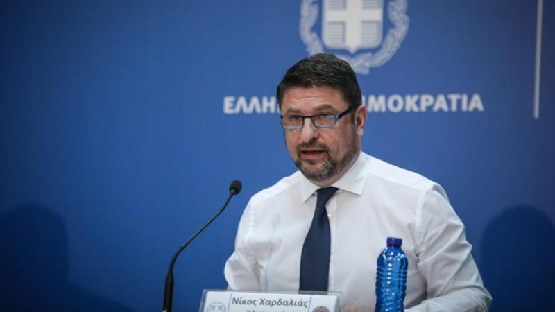 Νίκος Χαρδαλιάς: Παραμένουν στο βαθύ κόκκινο Αττική και Θεσσαλονίκη