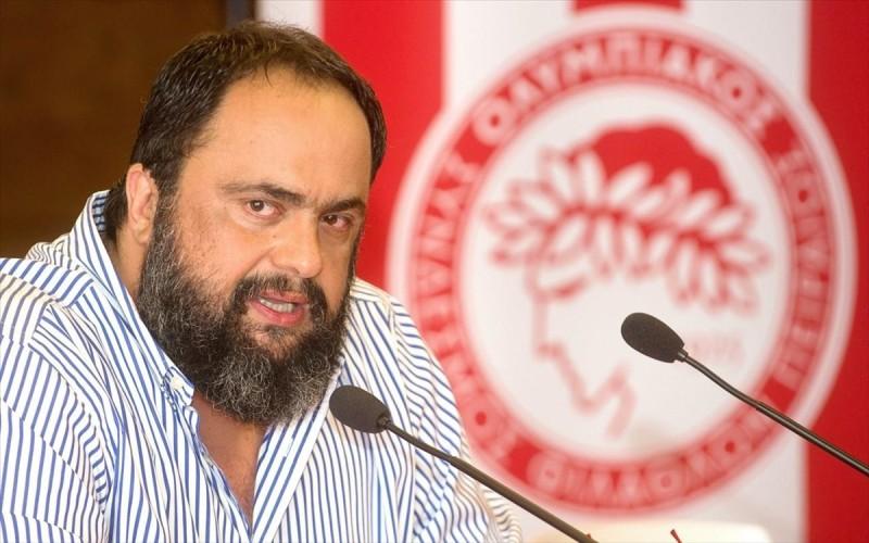 Β. Μαρινάκης: Πάθος και δύναμη να πάρουμε και το Κύπελλο