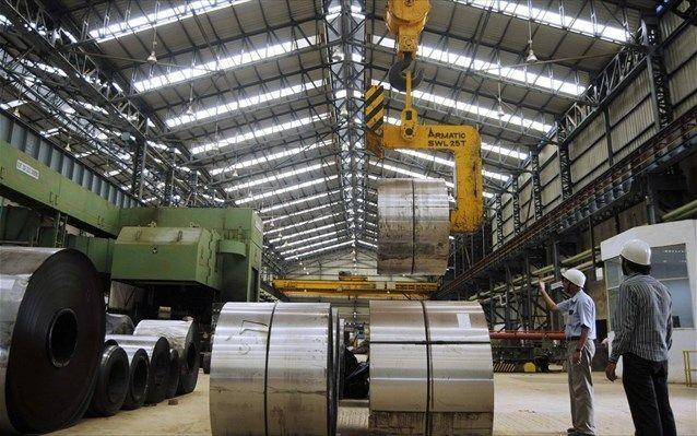 ΙΟΒΕ: Χαμηλότερα οι επιχειρηματικές προσδοκίες στη βιομηχανία τον Απρίλιο