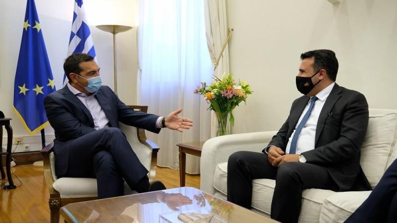 Τσίπρας-Ζάεφ: Η Συμφωνία των Πρεσπών άλλαξε τα Βαλκάνια
