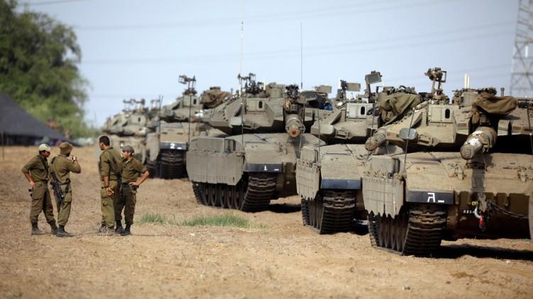 Ισραήλ: Άρματα μάχης κατά μήκος των συνόρων με τη Λωρίδα της Γάζας