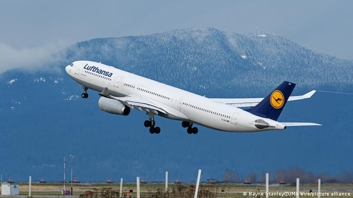Lufthansa: Διακοπή πτήσεων στον εναέριο χώρο της Λευκορωσίας