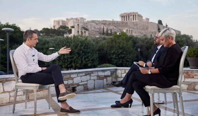 Κάλεσμα Μητσοτάκη στους Γερμανούς να επισκεφθούν την Ελλάδα