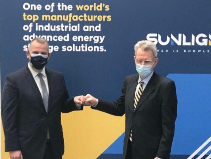Sunlight: Παρουσίασε το επενδυτικό της πλάνο στον Τζέφρυ Πάιατ