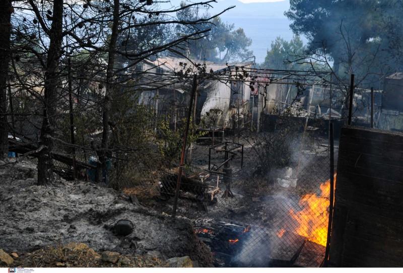 Ν.Χαρδαλιάς: Κάηκαν 20.000 στρέμματα δάσους από την πυρκαγιά στον Σχίνο Λουτρακίου