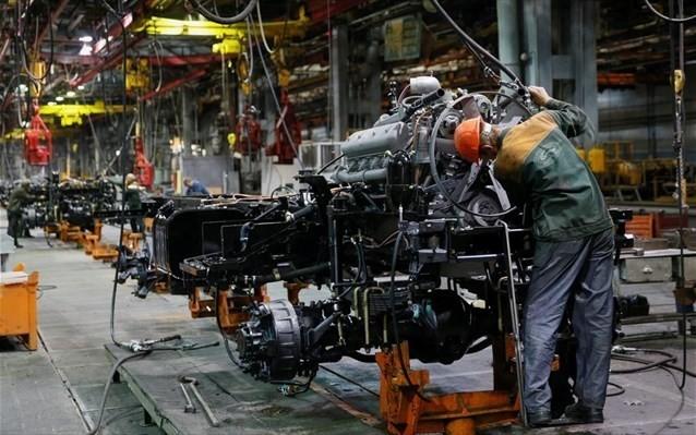 Αυξήθηκε ο δείκτης τιμών παραγωγού στη βιομηχανία τον Απρίλιο