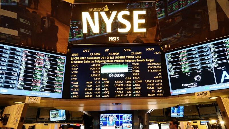 Νέα Υόρκη: Μικτά πρόσημα στη Wall Street  - Κοντά σε νέο ρεκόρ ο Nasdaq